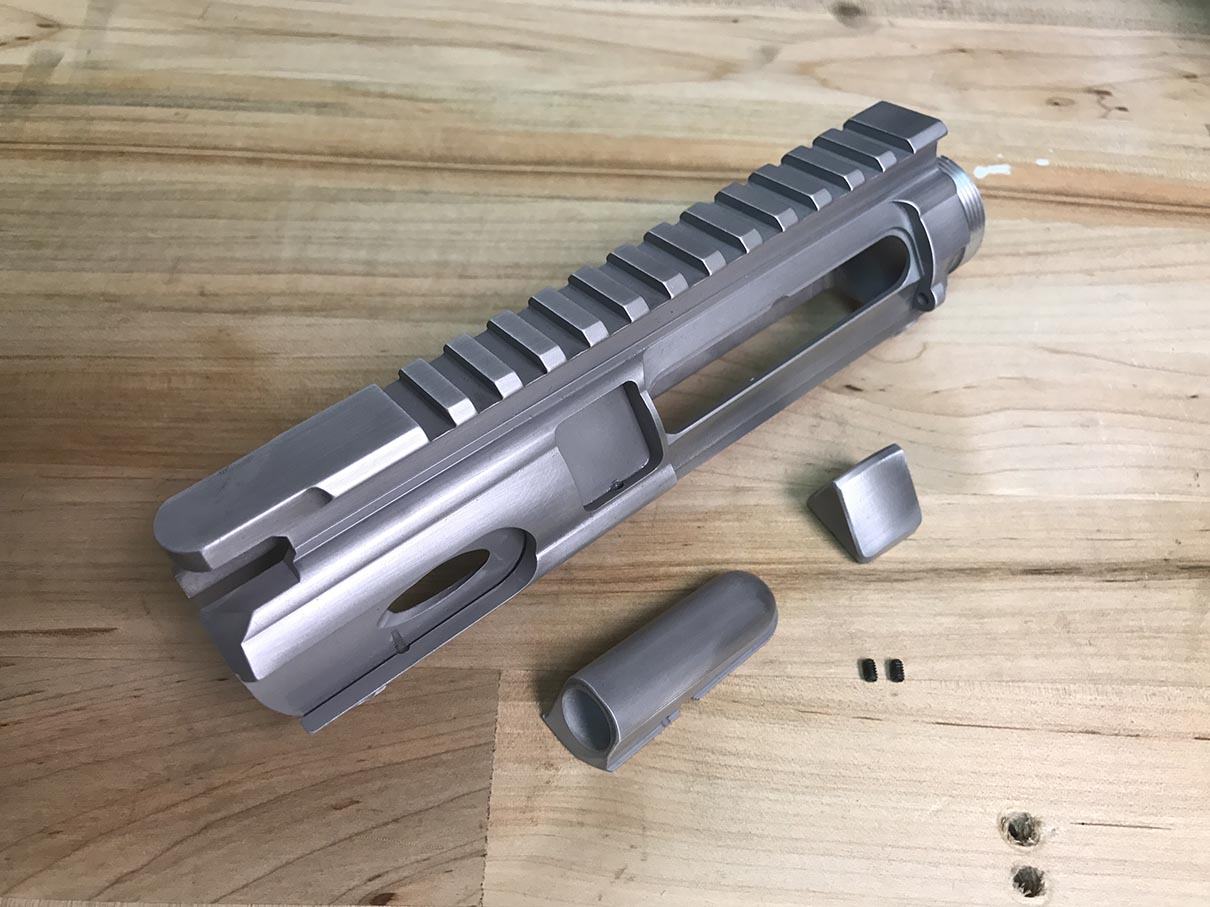 AR-15 Billet Upper Modular Stripped Receiver - RAW